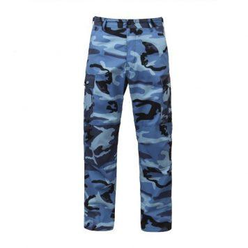 blue camo bdu pants military surplus