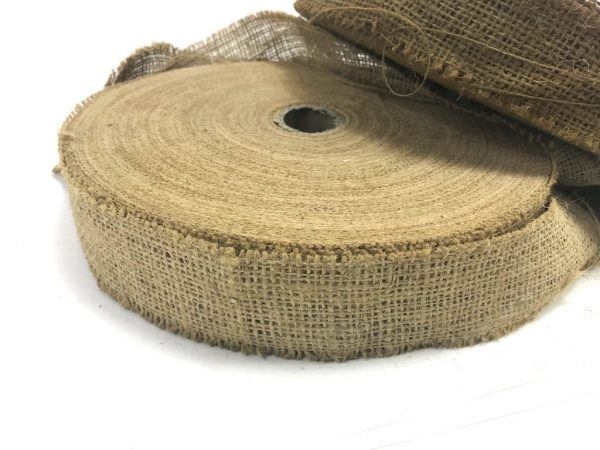 military surplus burlap jute in brown and tan for ghillie suit
