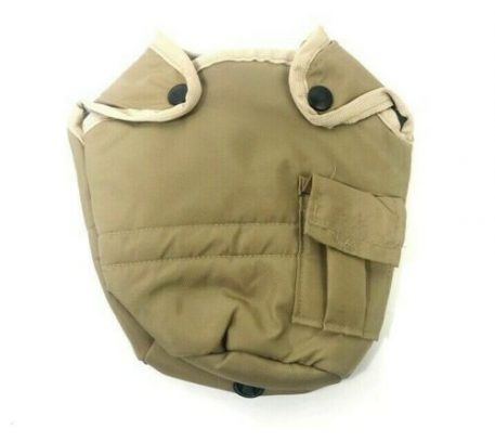 coyote shiny style khaki canteen cover