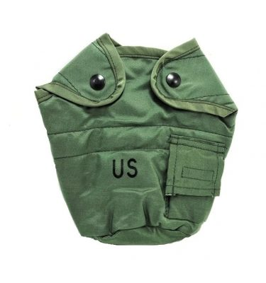 military surplus olive drab 1 quart canteen cover us gi nylon