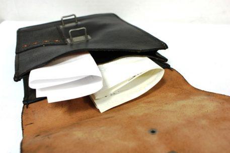 military surplus eat german document case black