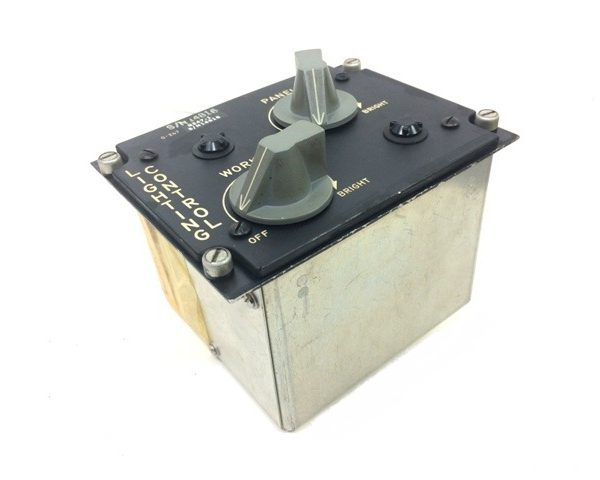 military surplus G247 Lighting control box