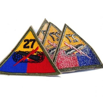 military surplus 27th Armored Patch