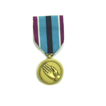military surplus humanitarian medal