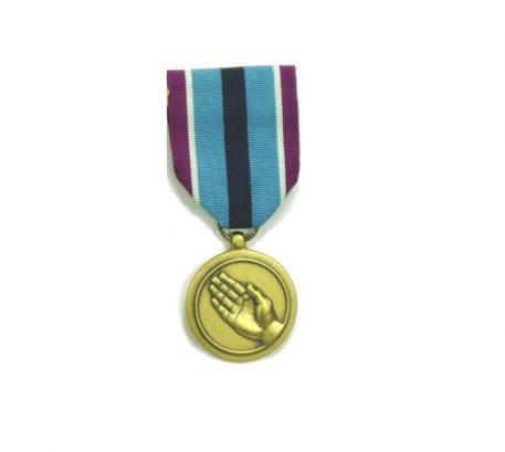 military surplus humanitarian medal