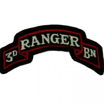 military surplus 3rd ranger scroll tab