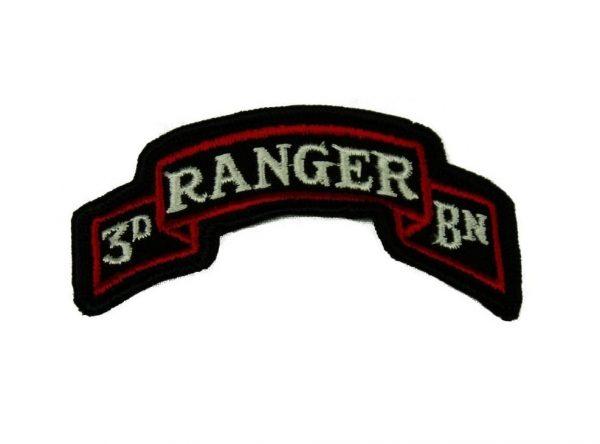 military surplus 3rd ranger scroll tab