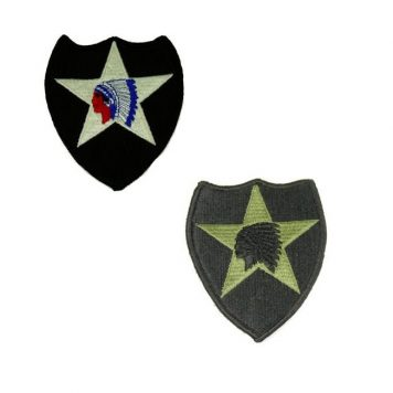 2nd infantry division patch