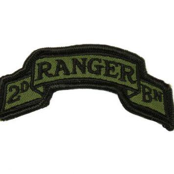military surplus 2nd ranger battalion scroll
