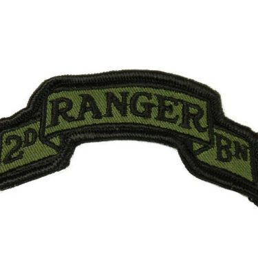 military surplus 2nd ranger battalion scroll