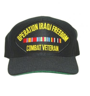 military surplus iraqi freedom cap combat veteran