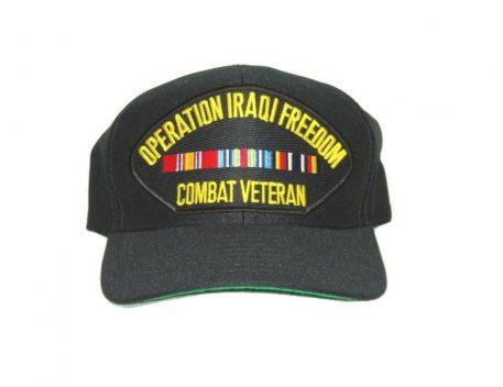 military surplus iraqi freedom cap combat veteran
