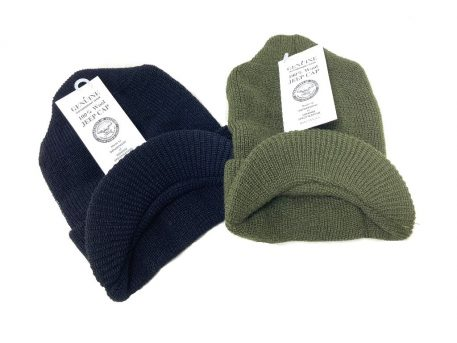 military issue wool jeep cap