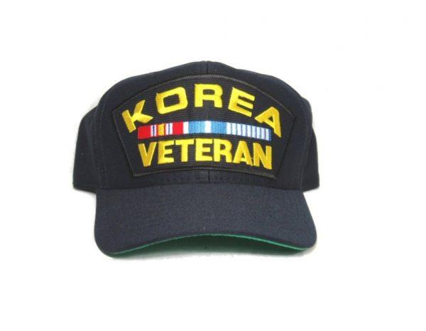 military surplus korea veteran cap with ribbons