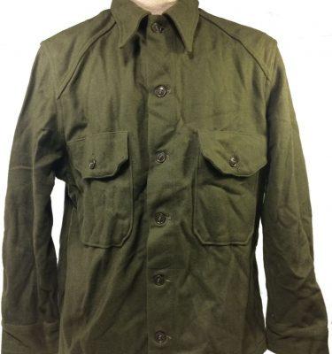korean issue wool shirt military surplus