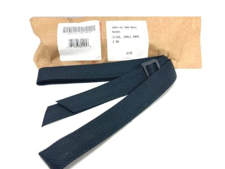 black m-16 nylon rife sling