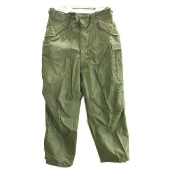 olive drab m1951 heavy field trousers