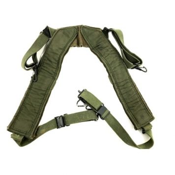 M-1956 canvas combat suspenders long
