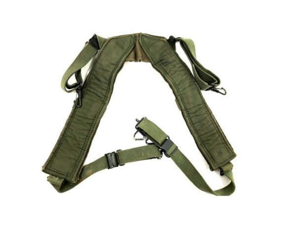M-1956 canvas combat suspenders long