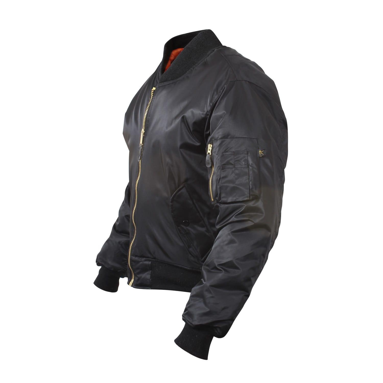 MA1 bomber jacket black
