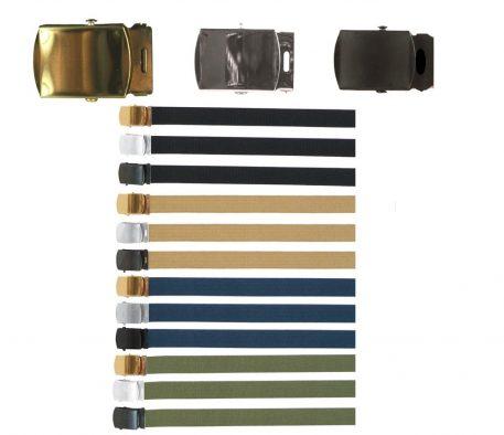 military surplus dress web belts