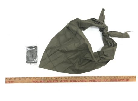 military surplus muslin triangle bandage