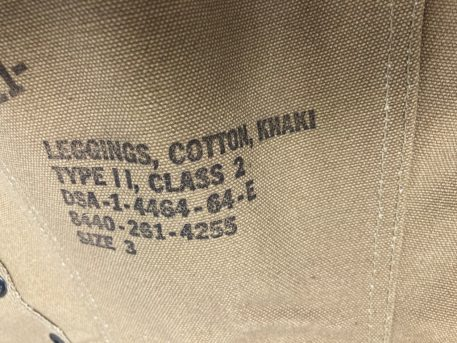 surplus tan khaki navy type 2 leggings