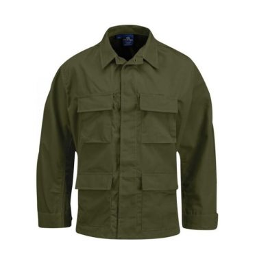 military surplus olive drab bdu shirt