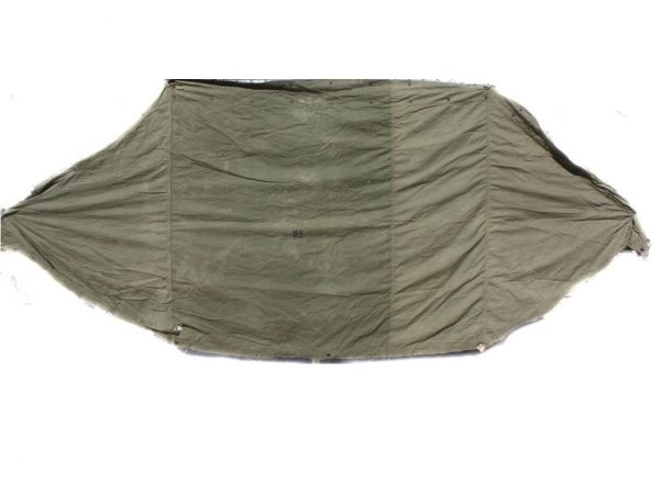 military shelter half pup tent