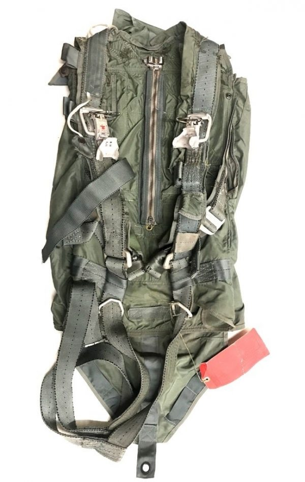aviation parachute harness, military surplus