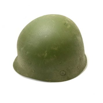 used military paratrooper helmet liner olive drab