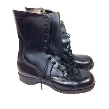 military surplus post vietnam leather combat boots