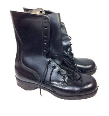 military surplus post vietnam leather combat boots