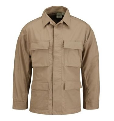 military surplus propper khaki bdu shirt
