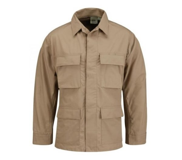 military surplus propper khaki bdu shirt