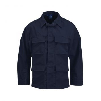 military surplus propper navy blue bdu shirt