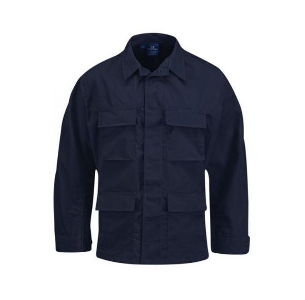 military surplus propper navy blue bdu shirt
