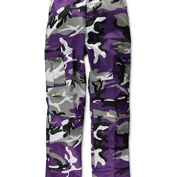 military surplus purple camo pants