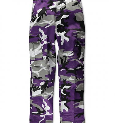 military surplus purple camo pants