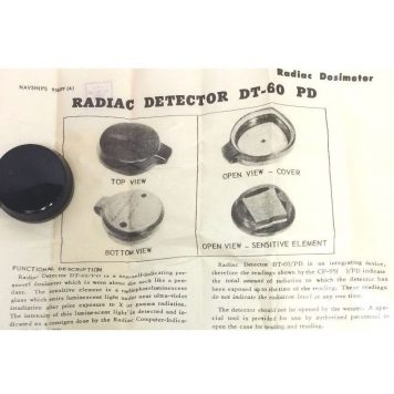 military surplus Radiac Detector
