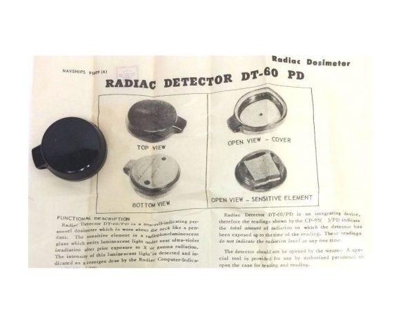military surplus Radiac Detector