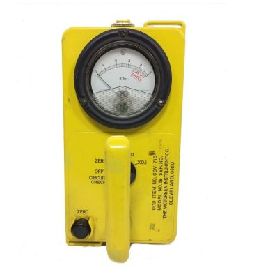 military surplus radiological survery meter