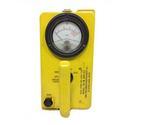 military surplus radiological survery meter