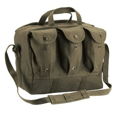 military surplus canvas shooter range bag medical gear bag