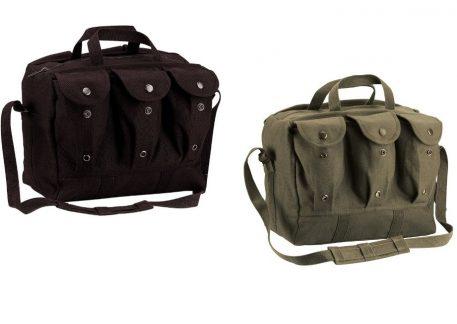 military surplus canvas shooter range bag medical gear bag