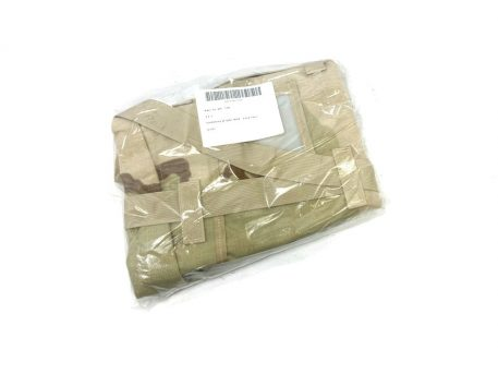 3 color desert sleeping bag carrier system, molle