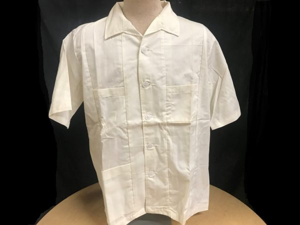 military surplus white medical smock size large
