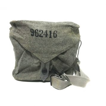 military surplus swiss gas mask bag