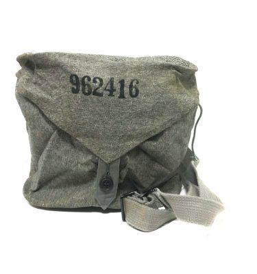 military surplus swiss gas mask bag