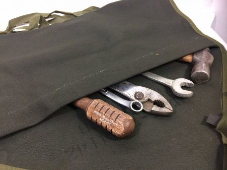 military surplus canvas tool roll 19207